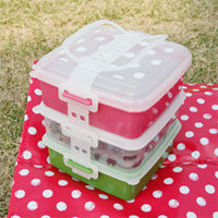 welcome connect design - 3 piece dot lunch package