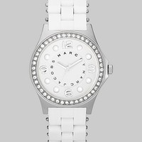 Marc by Marc Jacobs - Pelly Glitz Bezel Watch/Silver