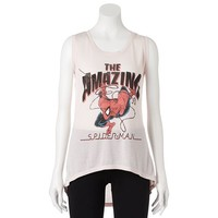 Freeze ''The Amazing Spiderman'' High-Low Muscle Tee - Juniors