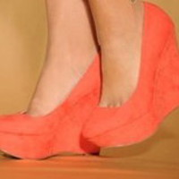 Tanny&#x27;s Couture  Coral wedges