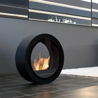 Conmoto ROLL FIRE | Sieger Design | fireplace at Stylepark