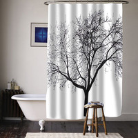 Tree Design special custom shower curtains available size