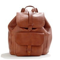 The Leather Transport Rucksack