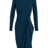 LANVIN | Tuck-Front Wool Dress | Browns fashion & designer clothes & clothing