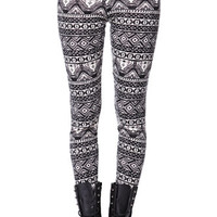 LA Hearts Sweater Leggings - Womens Pants - Black