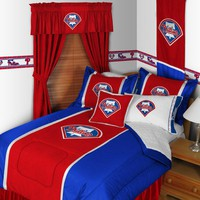 Sports Coverage Philadelphia Phillies Sidelines Bedding Series - PhiladelphiaPhillies Bedset