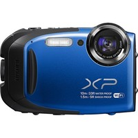 Fujifilm - FinePix XP70 16.4-Megapixel Digital Camera - Blue