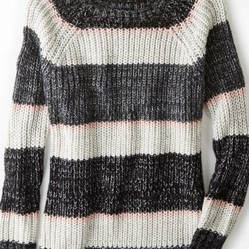 AEO Women's Striped Jegging Sweater