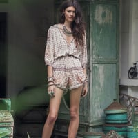Desert Rose Playsuit - Sand