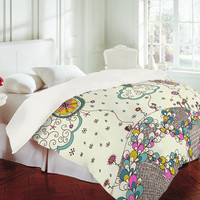 DENY Designs Home Accessories | Rebekah Ginda Design Kites To The Sky Duvet Cover