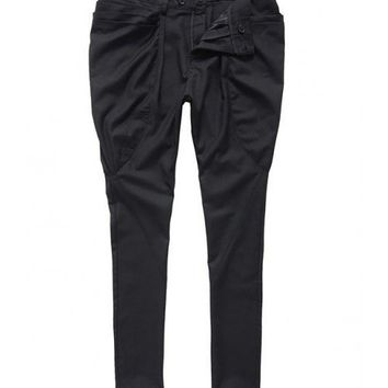 Black Cotton Casual Men Long Harem Pants M/L/XL/XXL@YSPK03b