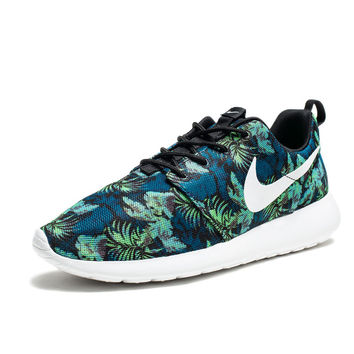 NIKE ROSHERUN PRINT - SPACE BLUE/BLACK/POISON GREEN/WHITE | Undefeated