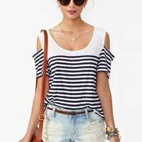 Brooklyn Stripe Tee
