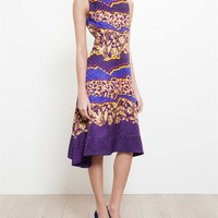 PETER PILOTTO | Abstract Floral Silk Dress | Browns fashion & designer clothes & clothing