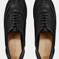 New Look Jeddy Bear Flat Brogue Shoes