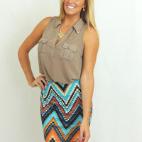 Foxy Lady Skirt -  $35.00 | Daily Chic Bottoms | International Shipping