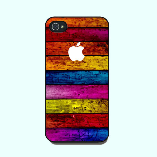 Color Wood Texture--iphone 4 Case,c.. on Luulla
