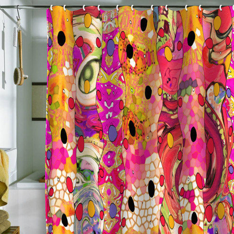 DENY Designs Home Accessories | Ingrid Padilla Whimsyeye Shower Curtain