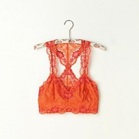 Free People Galloon Lace Racerback Crop Bra