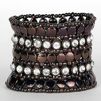 BKE Bead & Rhinestone Bracelet - Women's Accessories | Buckle