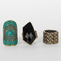 BKE Trio Ring Set - Women&#x27;s Accessories | Buckle