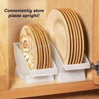 Plate Cradles - Fresh Finds - Kitchen &gt; Storage &amp; Organization
