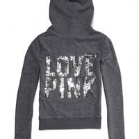 Bling Perfect Zip Hoodie - Victoria's Secret PINK® - Victoria's Secret