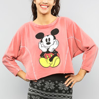 Vintage Wash Mickey Sweatshirt