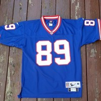 New York Giants Bavaro 1991 Throwback Jersey Size Medium NFL Reebok Stitched from Deadstock Dynasty