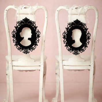 Silhouette Chair Signs