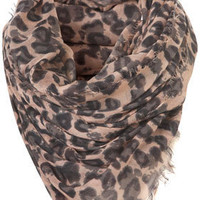 Leopard Scarf - Scarves  - Accessories