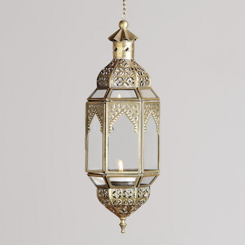 Small Luce Hanging Lantern Candleholder | World Market
