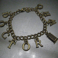 Doctor Who By the Letter Bracelet