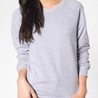 Unisex California Fleece Raglan | Shop American Apparel