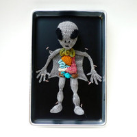 Knitted Alien Autopsy