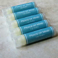 Peace of Mind Lip Balm - Origins type Peppermint, Spearmint, Eucalyptus
