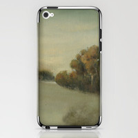 misty landscape iPhone & iPod Skin by karien deroo | Society6