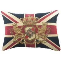 Amazon.com: Union Jack Cushion by Evans Lichfield: Kitchen & Dining