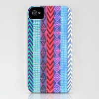 PATTERN {Peru Stripe} iPhone Case by Schatzi Brown | Society6