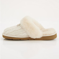 UGG Australia Cozy Knit Scuffette Slippers Shoes 1865 at BareNecessities.com