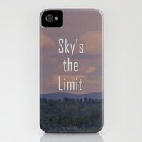 Sky's The Limit iPhone Case by Rachel Burbee | Society6