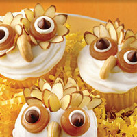 catching fireflies fun and unique gifts: these cupcakes are a hoot!