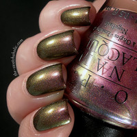 Layering Nail of the day with OPI Movin' Out over BB Couture Glampyre | The Swatchaholic . a blog about nail polish and makeup