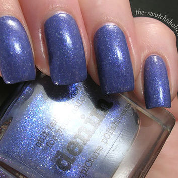 piCture pOlish Denim and Sparkle nail polishes Swatches and Review | The Swatchaholic . a blog about nail polish and makeup