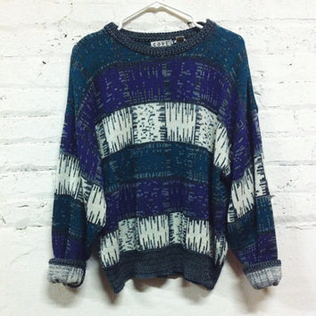 80s Pixel Sweater