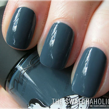 NOTD: MAC ? Blue India | The Swatchaholic . a blog about nail polish and makeup