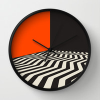 Twin Peaks Wall Clock by Jazzberry Blue