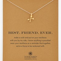 Women's Dogeared 'Best. Friend. Ever.' Boxed Pendant Necklace