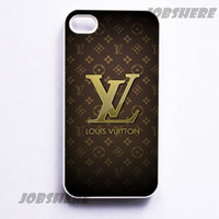 LV - iphone 4 case iphone 4s case iphone 4 hard case ihone 4 cover for apple iphone 4 iphone 4s