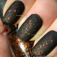 NOTD: China Glaze ? Fortune Teller with Essie Matte About You | The Swatchaholic . a blog about nail polish and makeup